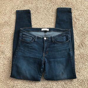 Flying Monkey Skinny Jeans size 30 Dark Blue Wash